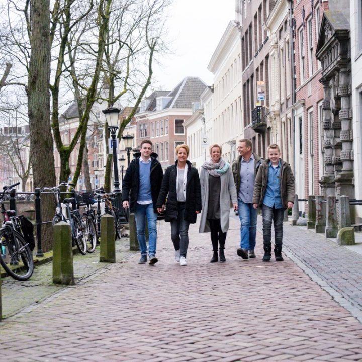 Familiefotoshoot - Utrecht oude binnenstad