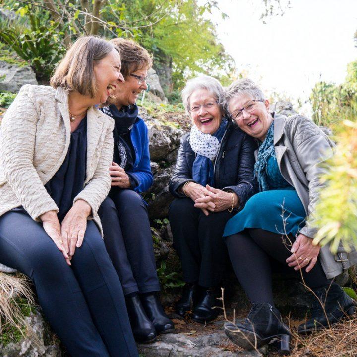 Zussenfotoshoot - Botanische Tuinen