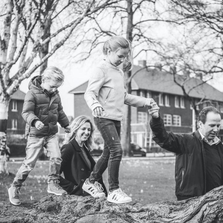 Fotoshoot kind & gezin - Park oog in Al