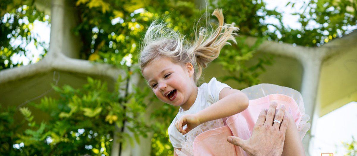 Fotoshoot Kind & Gezin - Spelen in het Maximapark