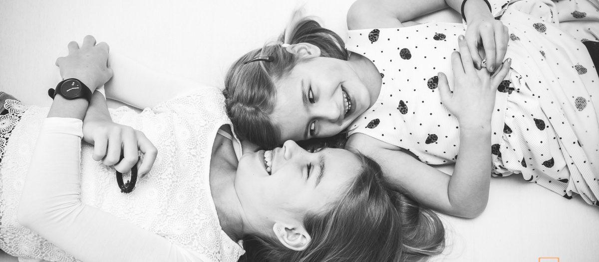 Fotoshoot Familie - 4 vrolijke nichtjes