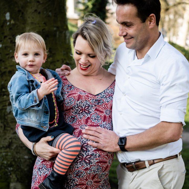 Fotoshoot zwangerschap - Utrecht omgeving Park Lepelenburg