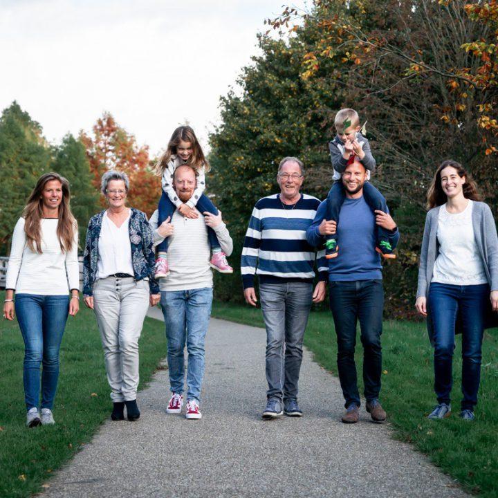 Familiefotoshoot - Wandeling door het Maximapark