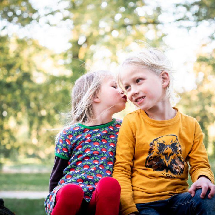 Fotoshoot Kind & Gezin - in de tuin van Kasteel de Haar